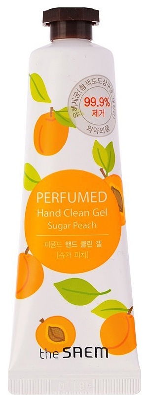 Купить Крем для рук The Saem Perfumed Hand Clean Gel Sugar Peach 30 мл