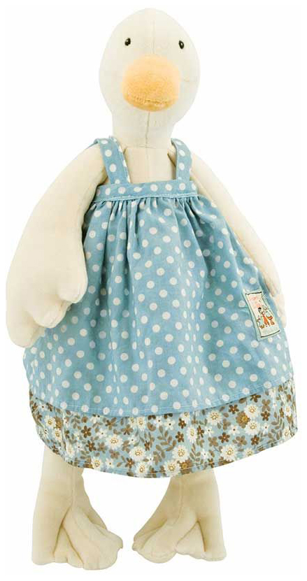 Купить Уточка Жанна комфортер 632346, Игрушка-комфортер Уточка Жанна Moulin Roty 632346, Комфортеры для новорожденных