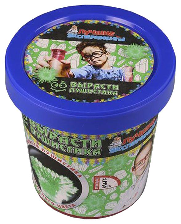 Купить Набор для выращивания кристаллов Qiddycome Вырасти пушистика зеленого, Наборы для выращивания кристаллов