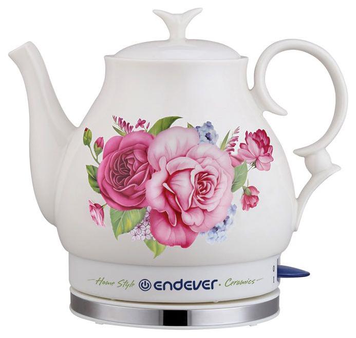 Чайник электрический Endever KR 400C White