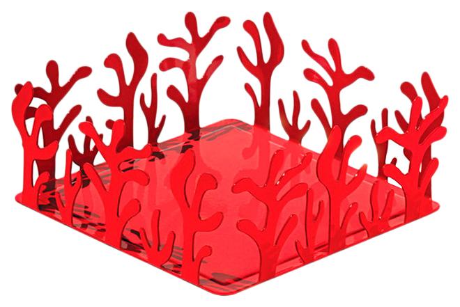 Держатель для бумажных салфеток Alessi Mediterraneo красный