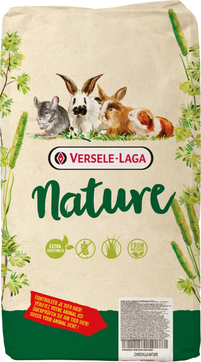 Корм для шиншилл Versele Laga Nature Chinchilla,