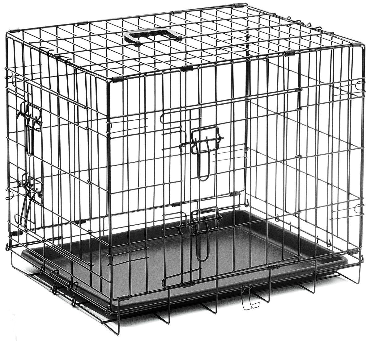 Клетка ZooOne №2, 60x45x50 см, 2 двери
