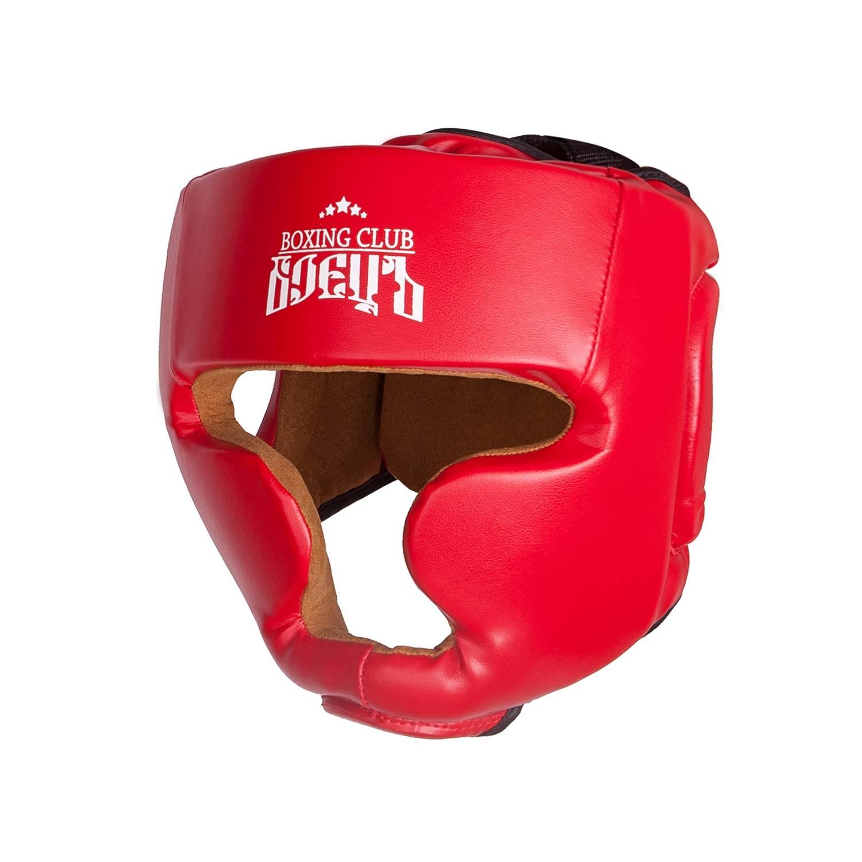 Шлем боксерский BHG 21 Красный, размер L