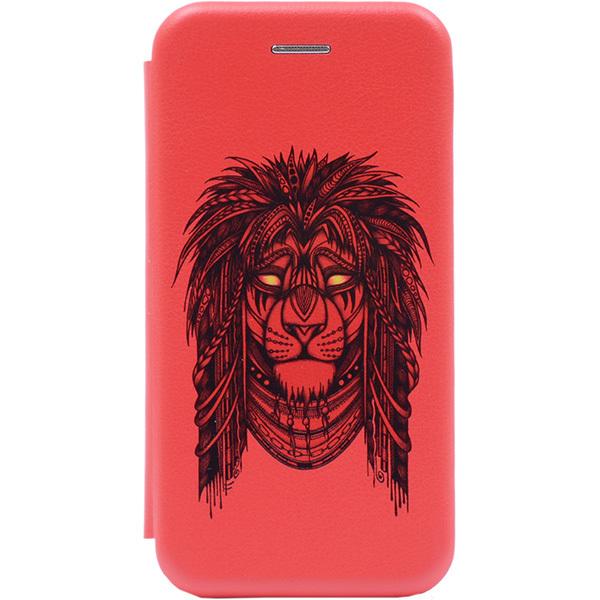 Чехол Gosso Cases для Xiaomi Red Mi 6 Red «Grand Leo»