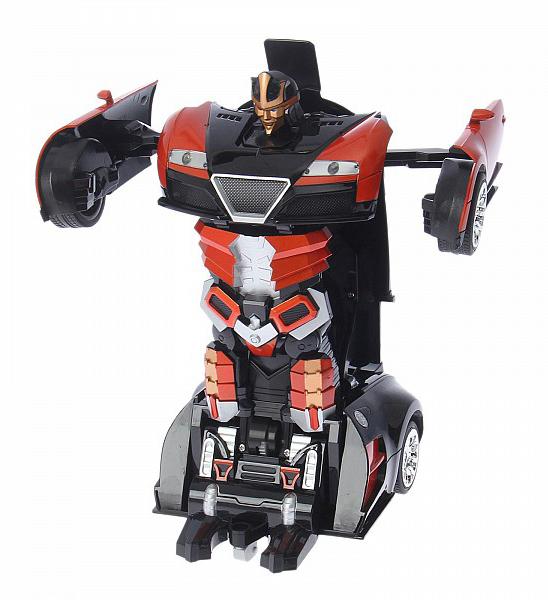 Купить Робот-трансформер р/у Troopers Assembly - Автобот (на аккум. свет, звук) Jia Qi, Радиоуправляемые роботы
