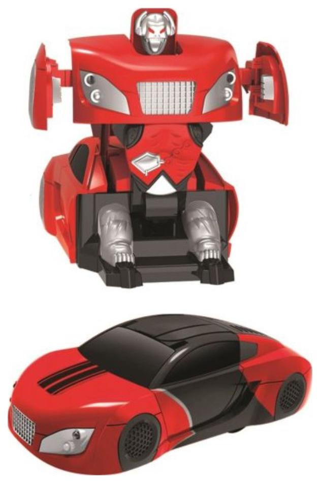 Антигравитационная машина-робот р/у, аккум., 3D передвижение: пол, стены, потолок, красн.