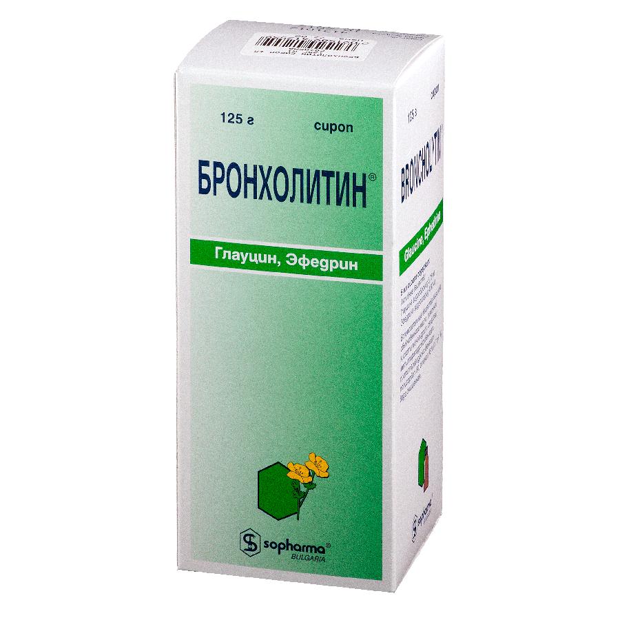 Бронхолитин сироп 125 г