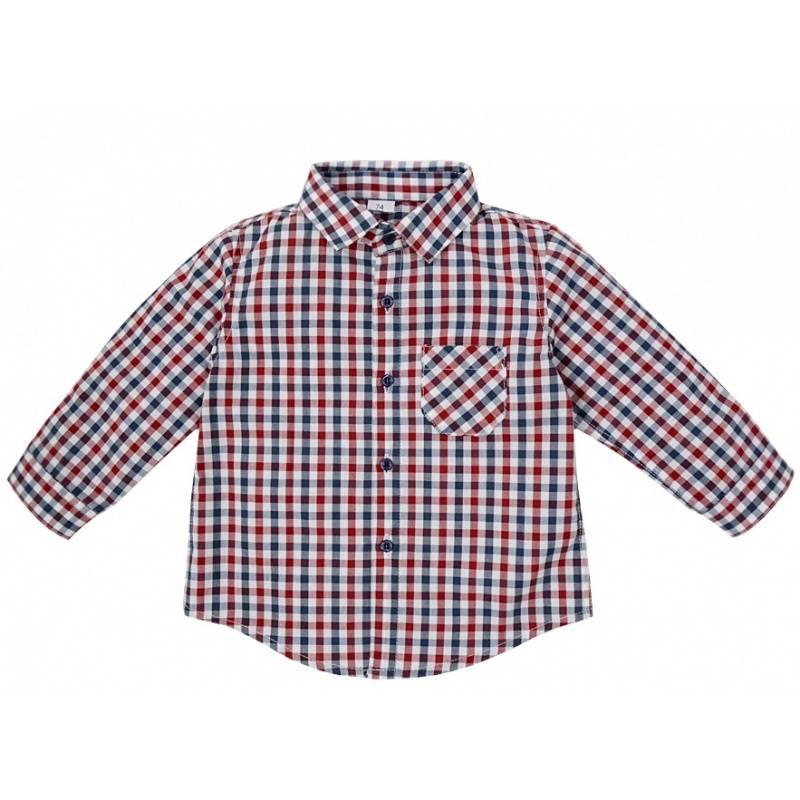 Рубашка Мамуляндия, цв. красный, 98 р-р фото