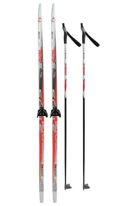 Лыжный комплект 75мм STEP SNOWWAY рост 160