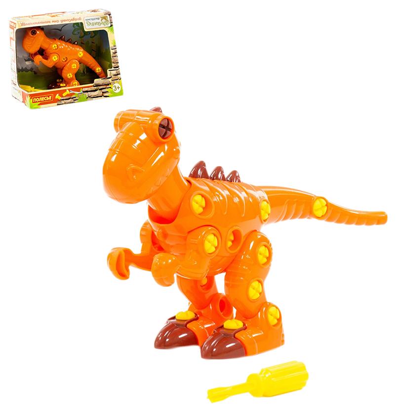 Конструктор Тираннозавр (40 элементов), Полесье, Конструкторы пластмассовые  - купить со скидкой