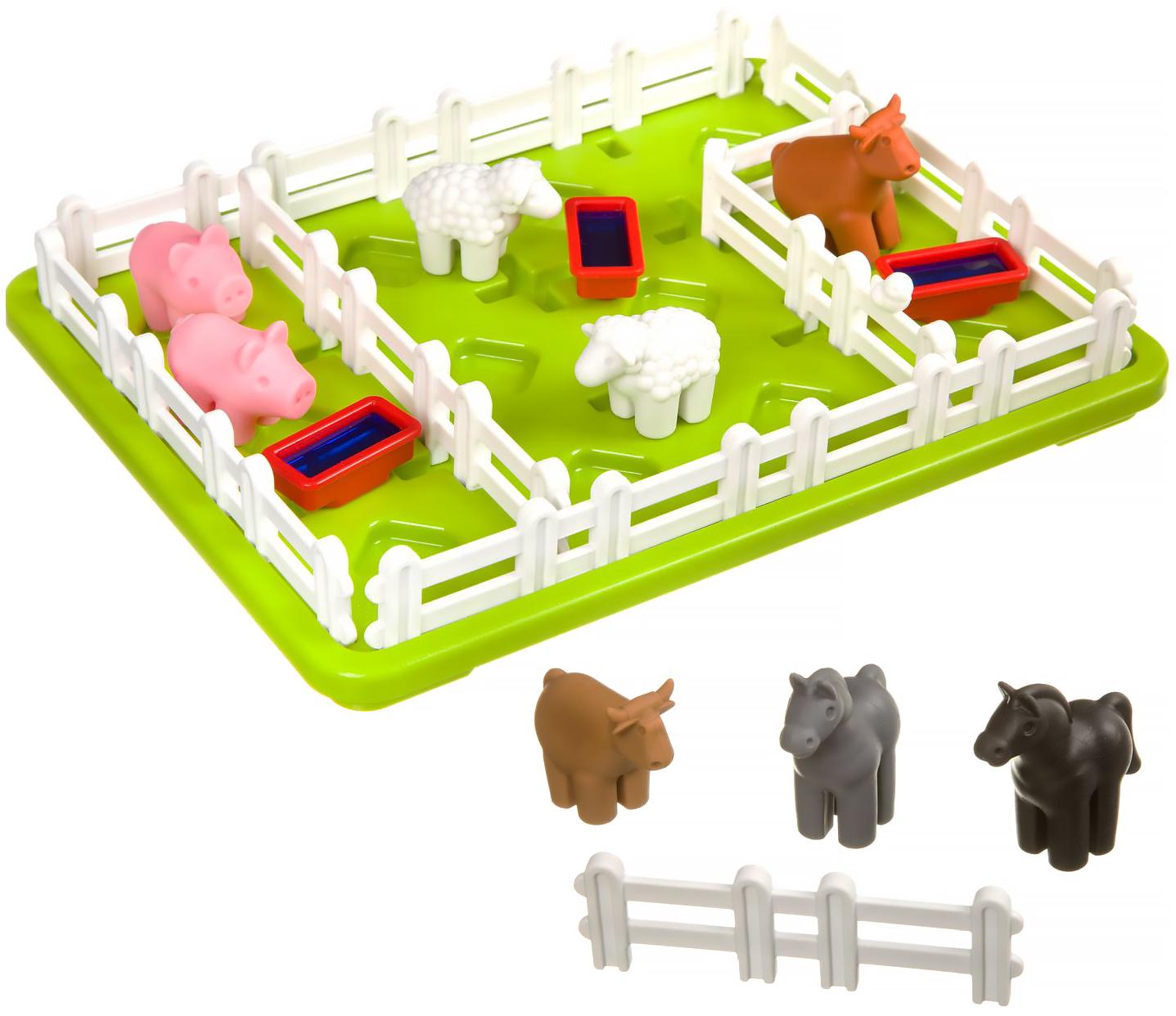 Купить Логическая игра Bondibon Умный фермер арт. SG 091 RU., Игрушки головоломки