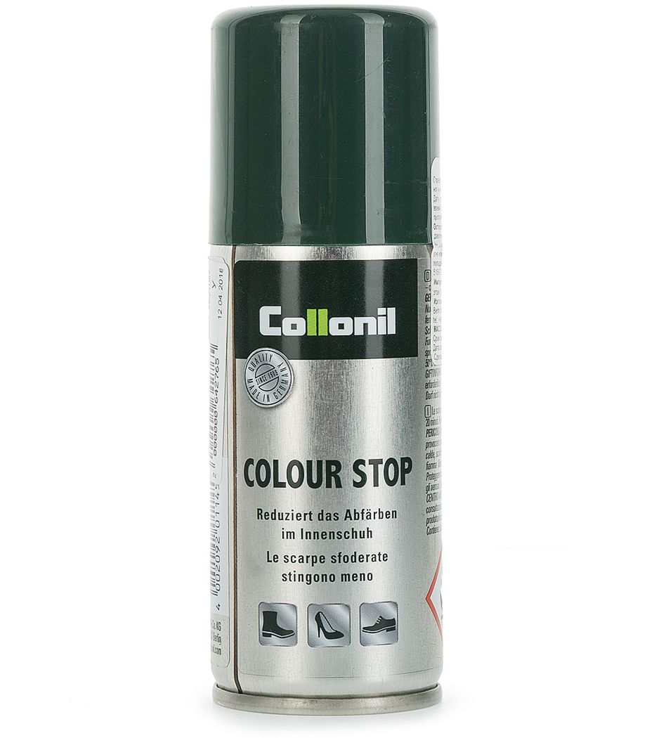 Спрей для обуви Collonil Color-stop против окрашивания внутренней части обуви