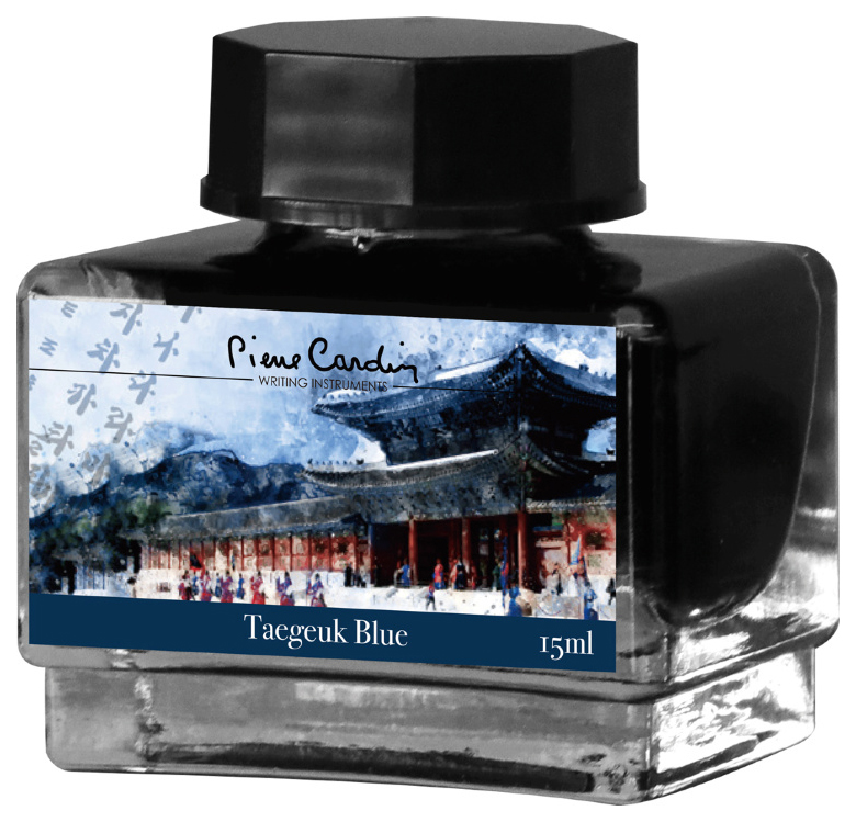 Чернила Pierre Cardin City Fantasy Taegeuk Blue 15 мл