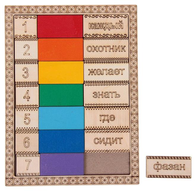 Купить Обучающий планшет Учим цвета радуги Smile Decor, Развивающие игрушки