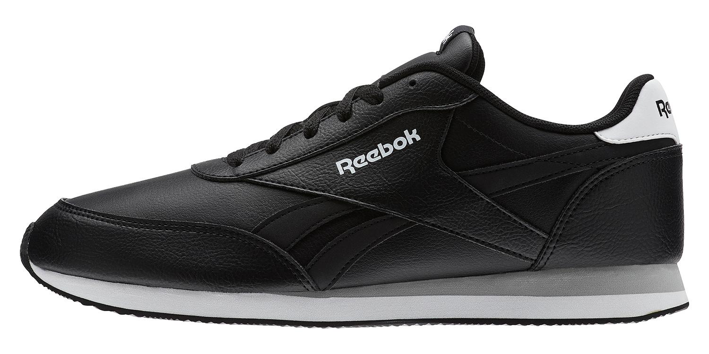 Кроссовки Reebok Royal Classic Jogger 2L, black/white/flat grey, 10.5 US фото