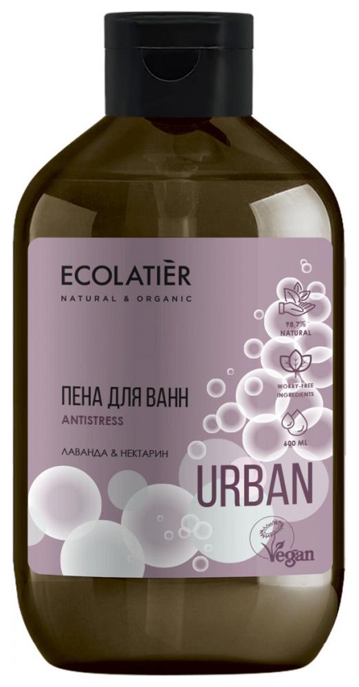 Пена для ванн Ecolatier Лаванда и нектарин