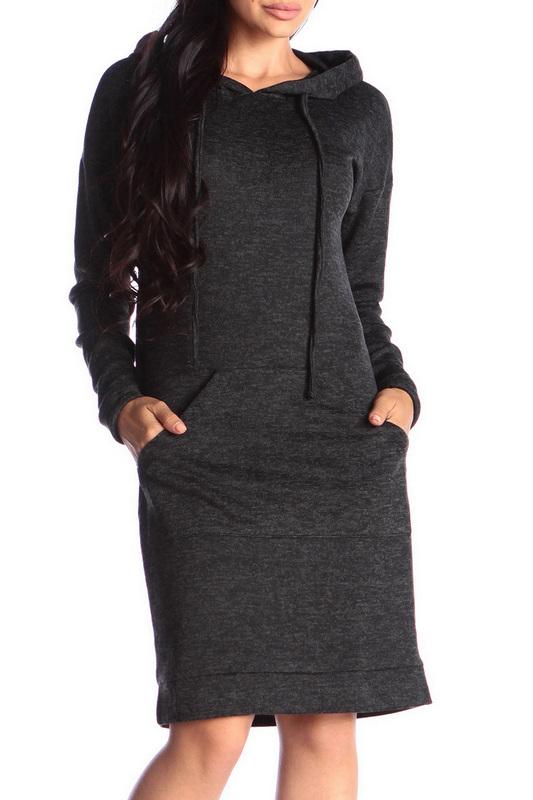 Платье женское Rebecca Tatti RR985_1AN черное XS