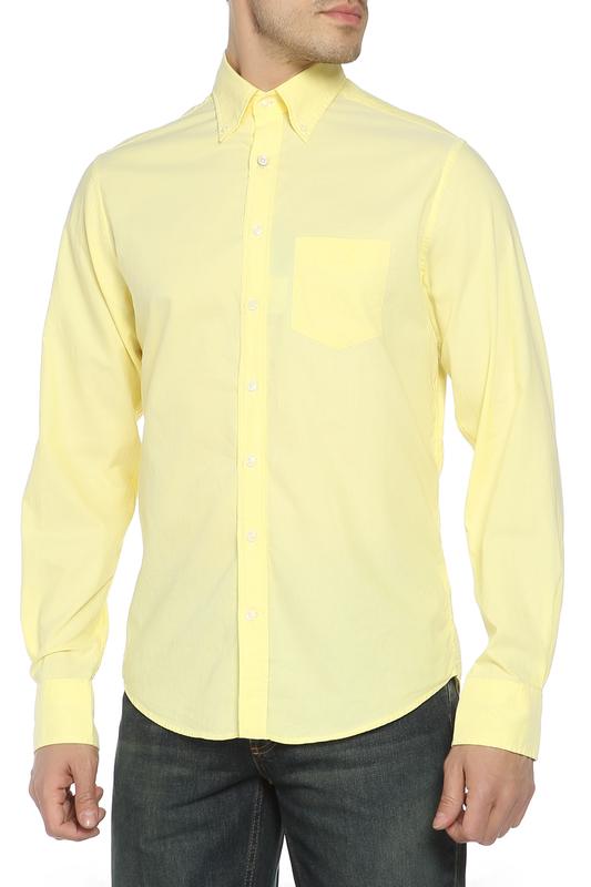Рубашка мужская GANT 347302 желтая S