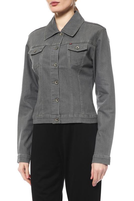 Джинсовая куртка женская Independent Fashion J12 серая XS