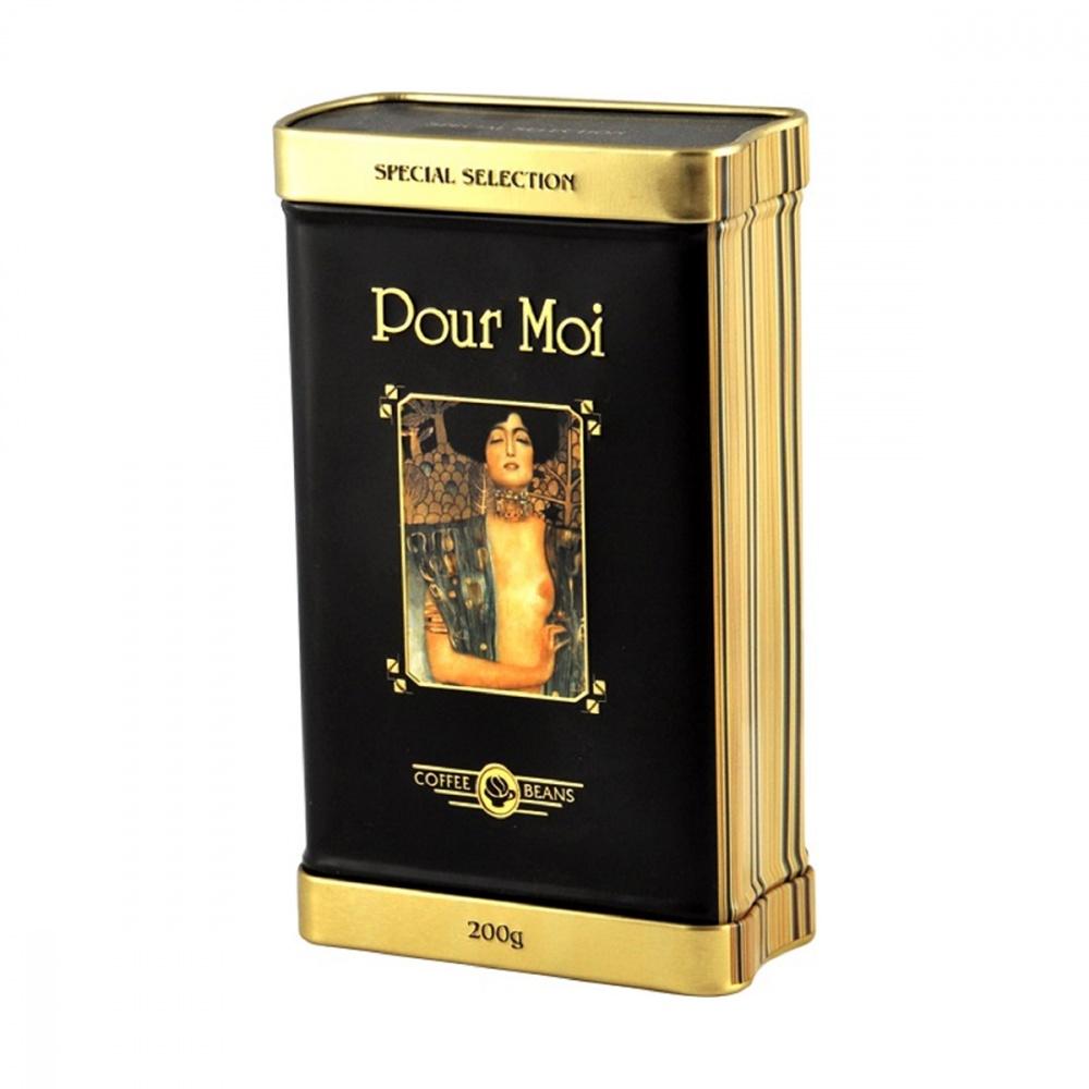 Кофе Pour Moi в зернах в подарочной упаковке 200 г