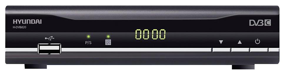 Цифровой ресивер Hyundai H DVB820 Grey/Black