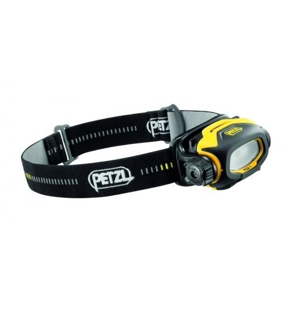Туристический фонарь Petzl Pixa 1 E78AHB 2 желтый/черный, 3 режима