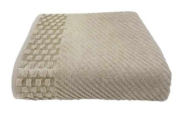 Банное полотенце, полотенце универсальное Nusa бежевый