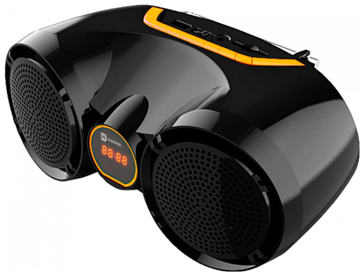 Беспроводная акустика Harper AM18 Black/Orange