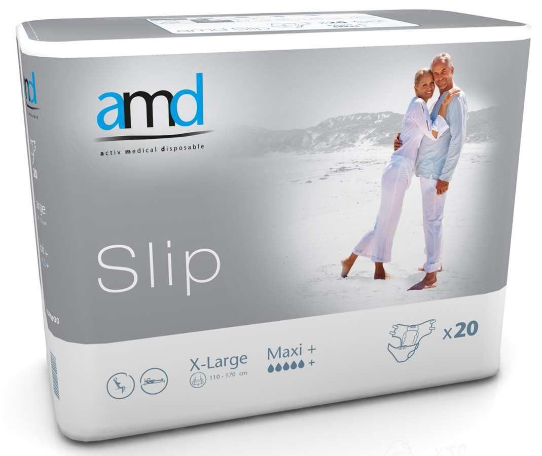 Купить Maxi+, Подгузники для взрослых AMD Slip MAXI + XL 20 шт.