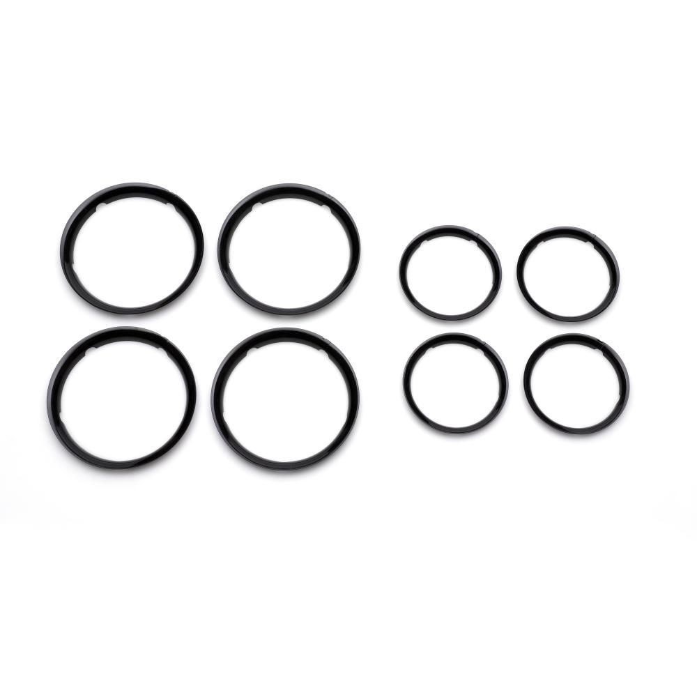 Купить Колпаки BUGABOO Fox для колес glossy black, Комплектующие для колясок