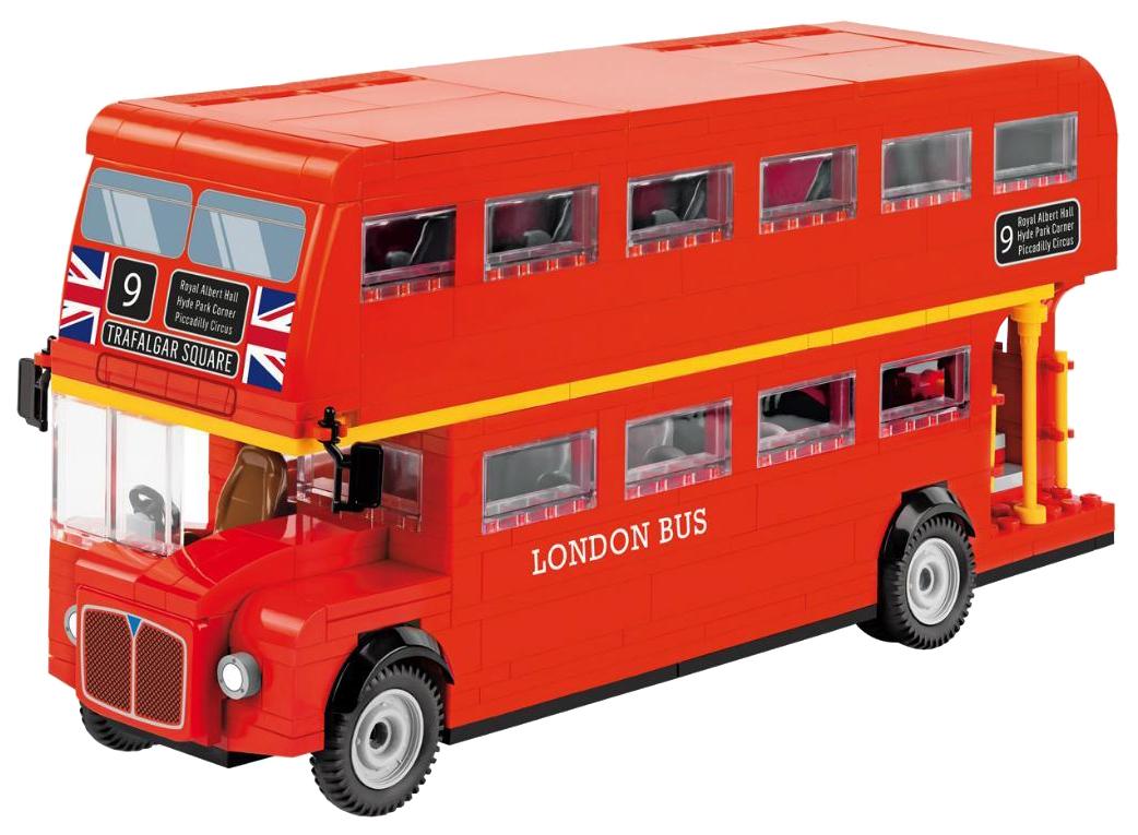 Конструктор пластиковый COBI Лондонский двухэтажный экскурсионный автобус фото