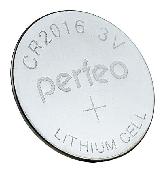 Батарейка Perfeo Lithium Cell PF CR2016/1BL 1 шт