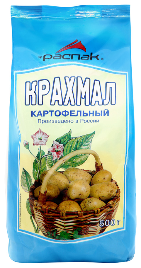 Крахмал Распак картофельный 500 г фото