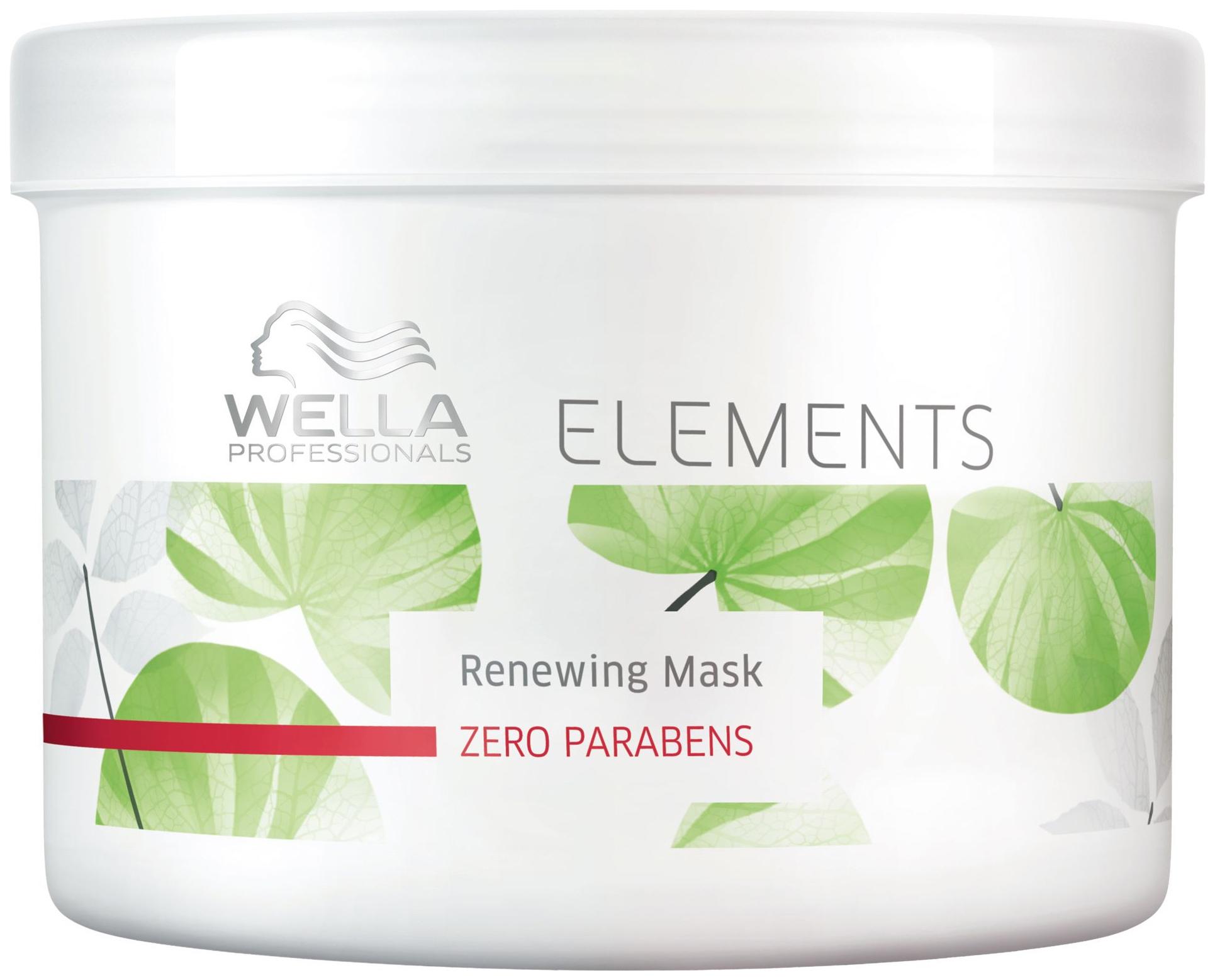 Маска для волос Wella Elements Renewing Mask 500 мл