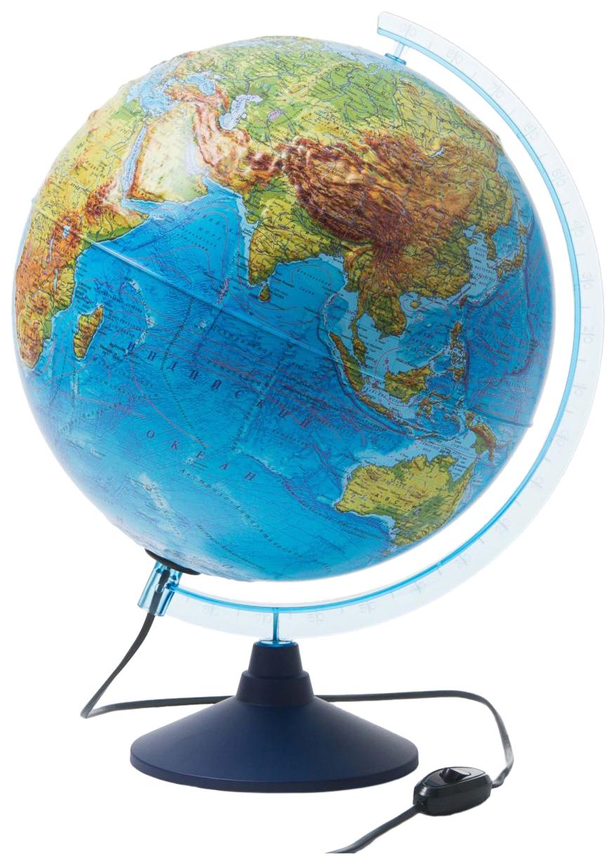 Купить Физический рельефный глобус Globen Классик 32 см, Глобусы