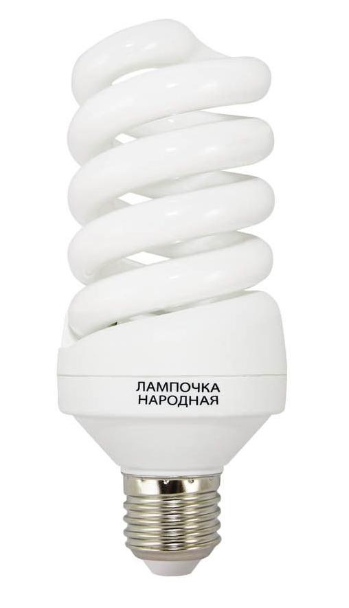Лампа энергосберегающая Tdm Sp E27 15W 4000