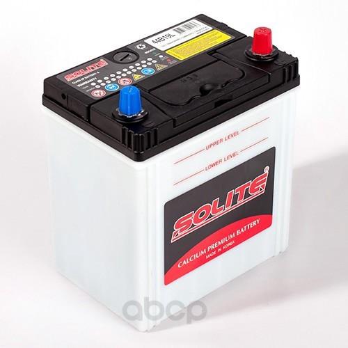 Аккумулятор автомобильный Solite 44B19L 44А/ч 350А полярность обратная фото