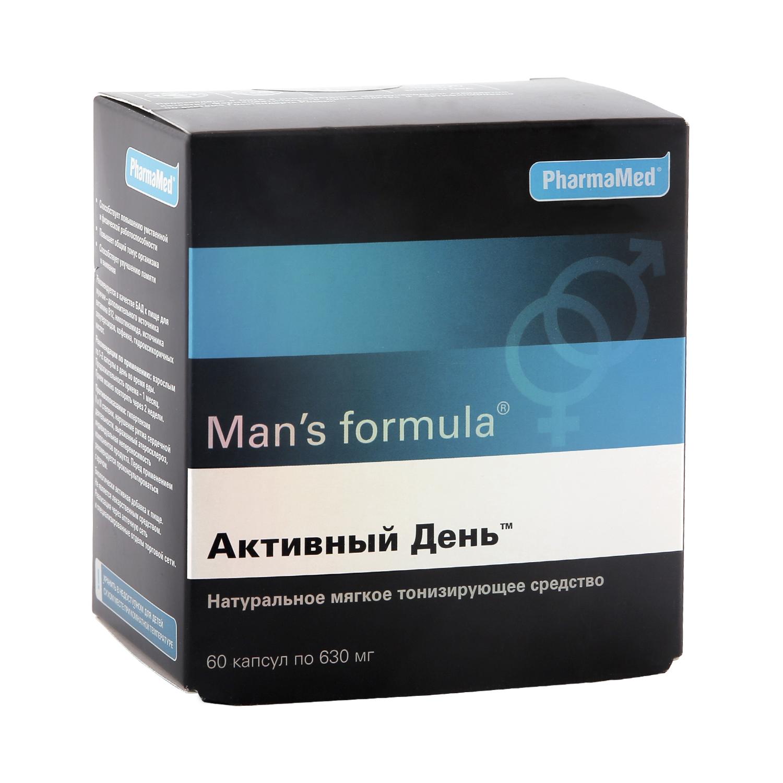 Купить Мен-с формула, Man's formula PharmaMed активный день 60 капсул