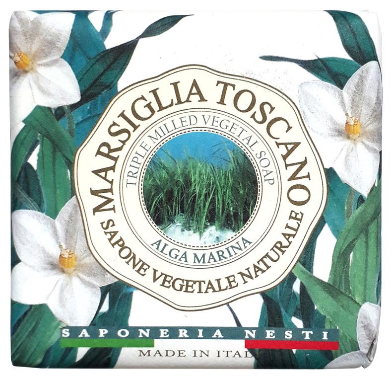 Косметическое мыло Nesti Dante Marsiglia Toscano Alga Marina Vegetal Soap 200 г