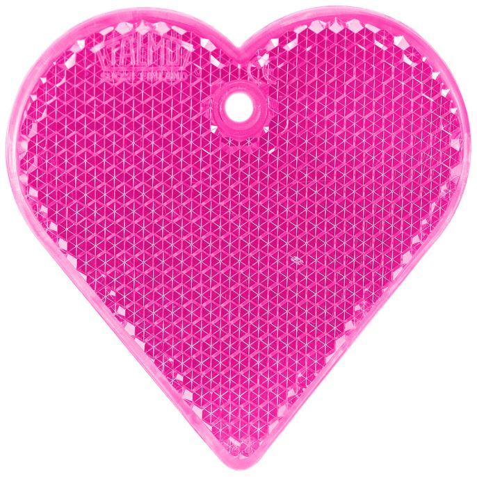 Купить Светоотражатель пешеходный Сердце, Розовый, Мамасвет,