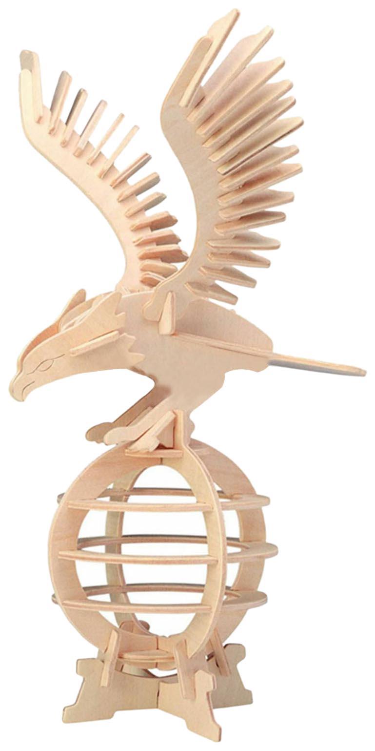 Купить Модель деревянная сборная Wooden Toys Орел, Модели для сборки