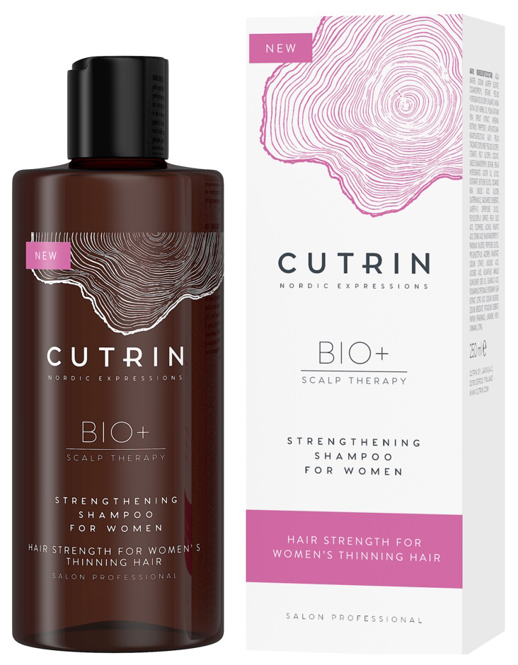 Купить Шампунь Cutrin Bio+ Strengthening Shampoo For Women 250 мл