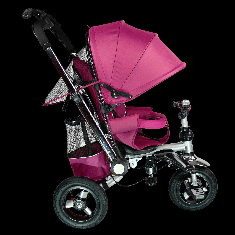 Купить Велосипед детский трехколёсный Farfello TSTX010 винный арт.TSTX010/2, Детские велосипеды-коляски