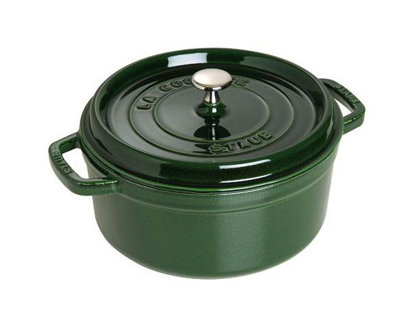Кокот круглый Staub 1102885 Зеленый