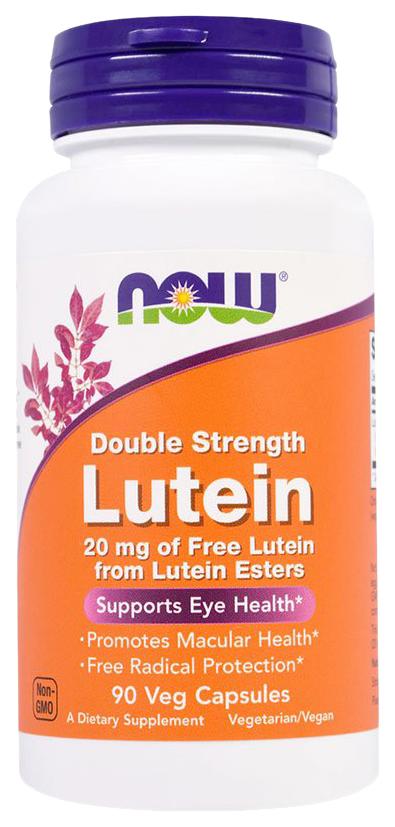 Для зрения NOW Lutein Double Strength