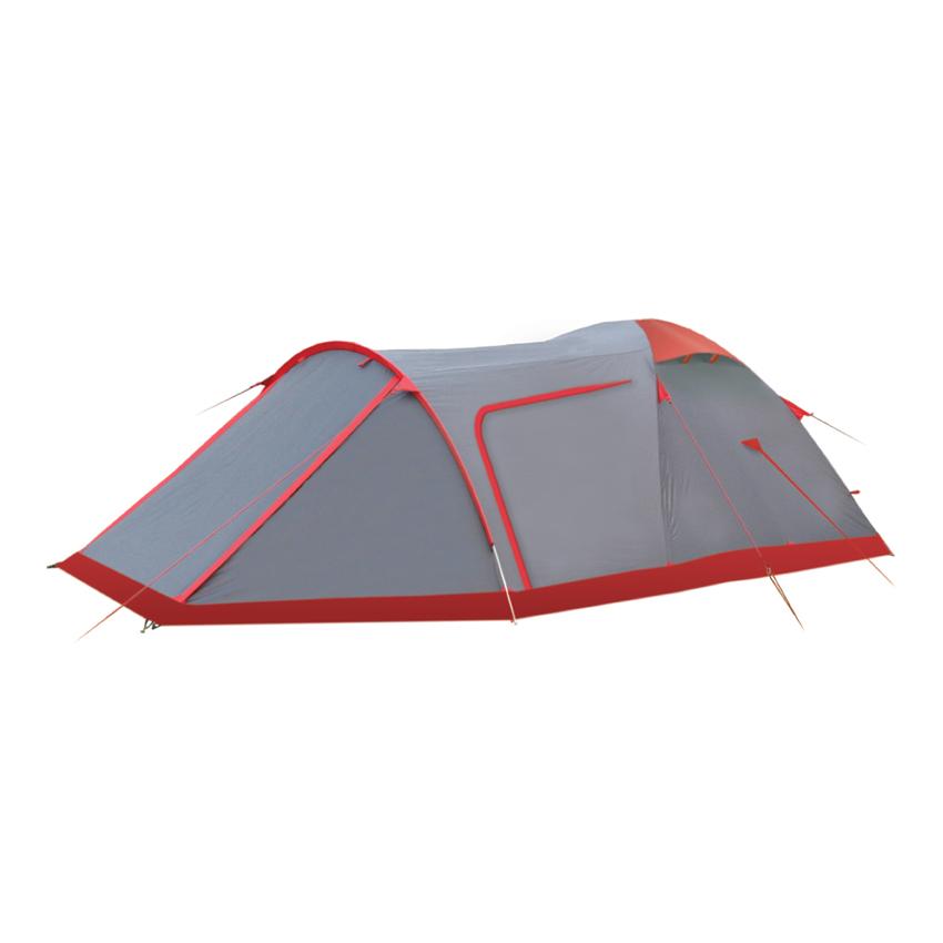 Палатка Tramp Cave 3 V2 серый Цвет серый