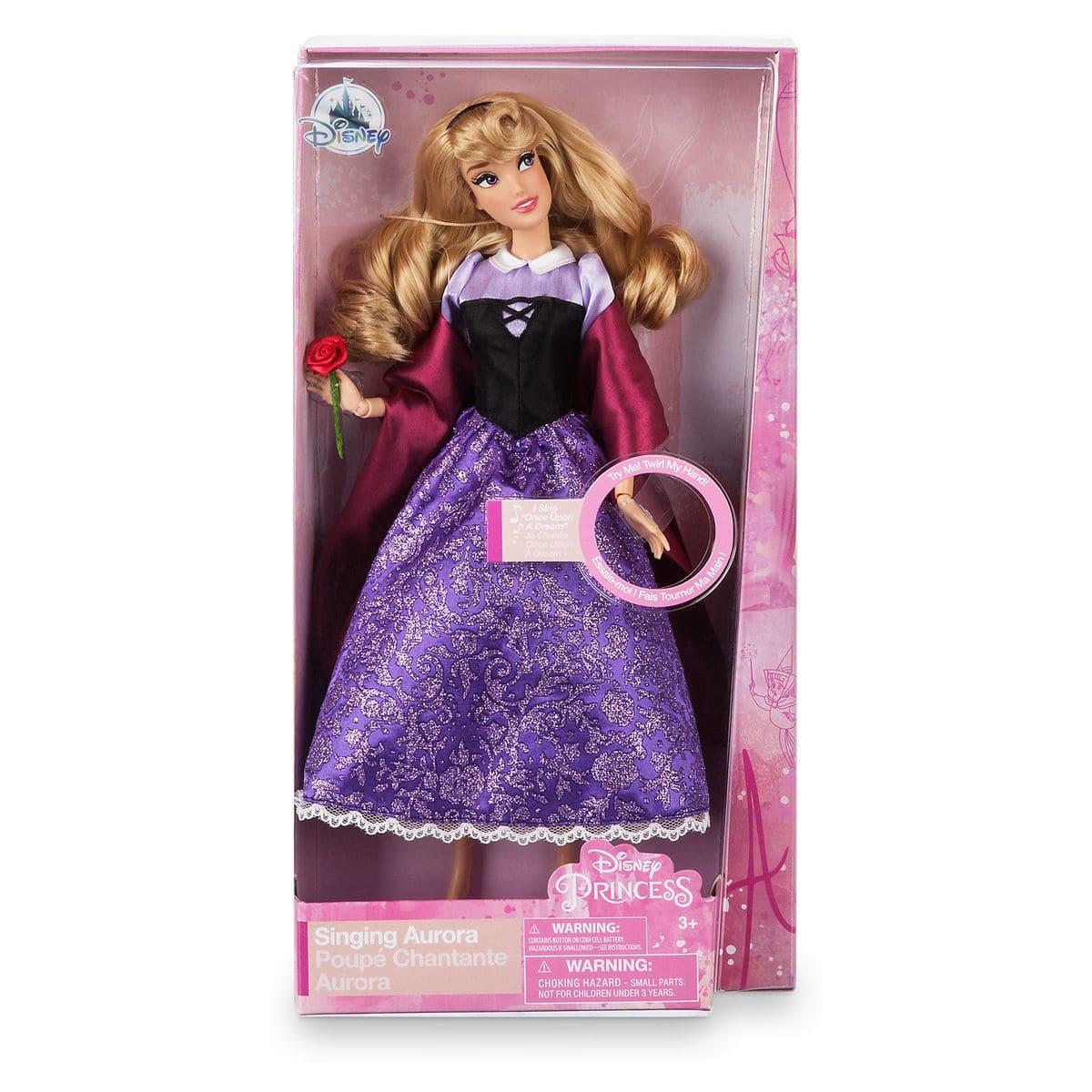 Кукла Disney Princess Аврора поющая 0672P