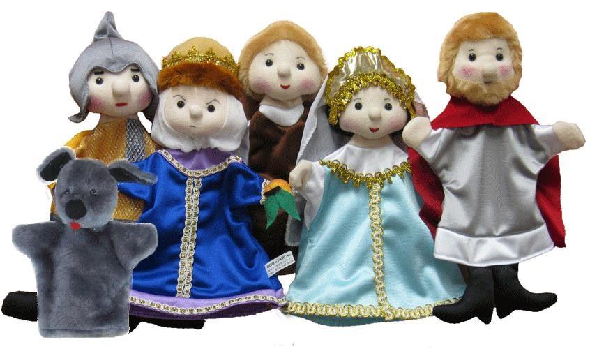 Игровой набор Тайга Кукольный театр Сказка о мертвой царевне 6 кукол