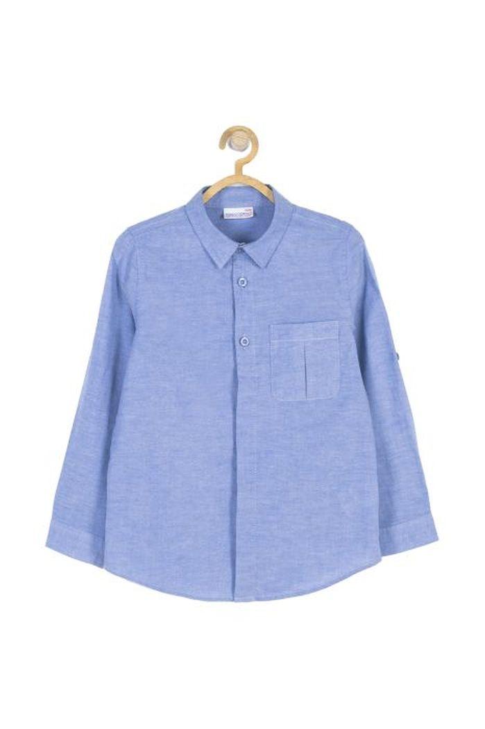 Купить Рубашка для мальчиков COCCODRILLO р.116, Детские блузки, рубашки, туники